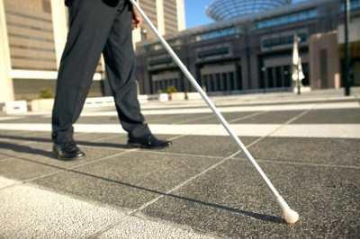 Фото: сліпі на вулиці